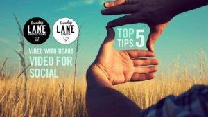 Video for Social Media: 5 Top Tips