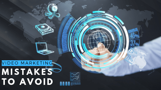 Video Marketing Mistakes to Avoid graphic digital marketing world hand Laundry lane productions video production company Sydney