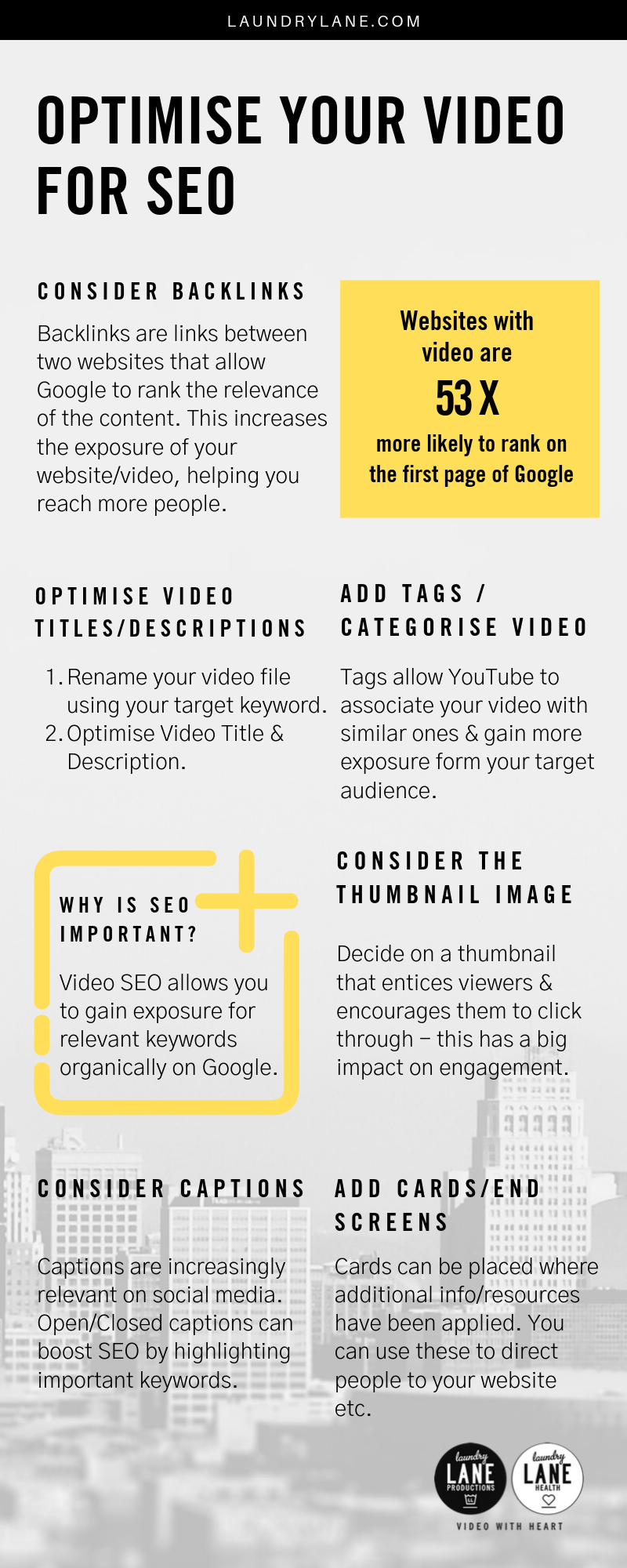 How to Optimise your Video for SEO